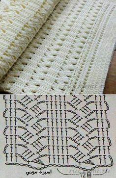 Watch This Video Beauteous Finished Make Crochet Look Like Knitting (the Waistcoat Stitch) Ideas. Amazing Make Crochet Look Like Knitting (the Waistcoat Stitch) Ideas. Filet Crochet, Poncho Au Crochet, Beau Crochet, Crochet Diagram, Crochet Chart, Crochet Scarves, Crochet Motif, Baby Blanket Crochet, Crochet Doilies