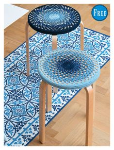Free Crochet Pattern for a Stool Cover. Skill Level: Easy Easy granny stitch stool cover to crochet. Free Pattern More Patterns Like This! Knitting Patterns Free, Free Pattern, Crochet Patterns, Stool Cover Crochet, Easy Crochet, Free Crochet, Anchor Crafts, Stool Covers, Seat Covers