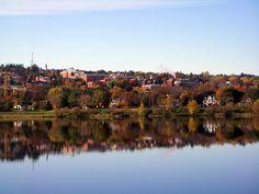Shot of the UNB campus from the St. Atlantic Canada, Prince Edward Island, New Brunswick, The St, Newfoundland, Nova Scotia, Vacations, Destinations, University