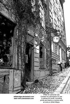 Victorian manga background 7 by Attlebridge on deviantART