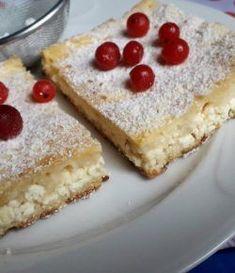 Lusta (gluténmentes) túrós rétes Gluten Free Recipes, Free Food, Cheesecake, Paleo, Sugar, Meals, Healthy, Glutenfree, Desserts