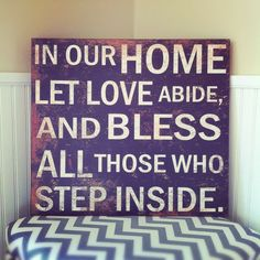 OurSubway Sign: Let Love Abide is a perfect wall quote and perfect as a house warming gift. For more Sign Wall Art ideas visit Antique Farmhouse. Great Quotes, Me Quotes, Inspirational Quotes, Wall Quotes, Quotable Quotes, Wisdom Quotes, Motivational, Wall Plaques, Wall Signs