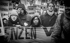 Groei voor- en tegen racisme by Raoul Hilbink