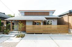 Small Japanese House, Japanese Home Design, Japanese Style House, Japanese Modern, Japan Modern House, Modern Small House Design, Small Modern Home, Simple House Exterior, Dream House Exterior