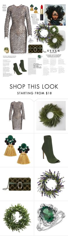 """Give me more!"" by waltos ❤ liked on Polyvore featuring Michael Kors, Beston, Gucci, Nearly Natural and Blue Nile"