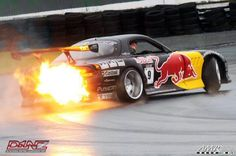 Nothing like a flamethrower exhaust on a drifting 3 rotor RX-7 Click Through To See My Daily Top 10 Pins!