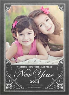 Grand New Year New Year's Card