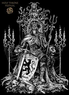 Dead King Throne Chris Moyen