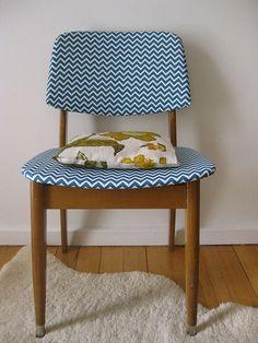 Chevron retro chair / ecco come saranno le mie sedie!