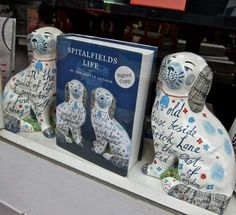 Rob Ryan's Staffordshire dogs