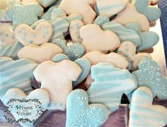 Baby Boy Shower Ideas - I recently had the opportunity to help with a shower for a baby boy. Here are some decorating ideas for your next baby shower! Stop by m…