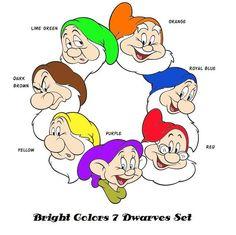 c965fc27463 7 Dwarf Hats for Seven Dwarves Dress up Snow White by CapeandCloak Seven Dwarfs  Costume