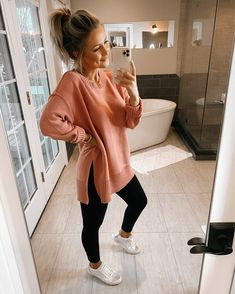 Shop Your Screenshots™ with LIKEtoKNOW.it, a shopping discovery app that allows you to instantly shop your favorite influencer pics across social media and the mobile web. Casual College Outfits, Mom Outfits, Fall Outfits, Teacher Outfits, Fashion Outfits, School Outfits, Women's Fashion, Cute Comfy Outfits, Comfortable Outfits