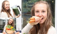 Are raw vegetables the secret of eternal youth? Businesswoman, 29, hasn't eaten hot food for SEVEN years and says she's still mistaken for a teenager. Susan Reynolds, 29, eats nothing but raw fruit, vegetables, nuts and seeds. The Edinburgh entrepreneur says the diet is the reason for her good skin. She says she doesn't miss eating junk food and gets no cravings for it.