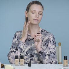 Beauty Focus: natural make-up for blue eyes