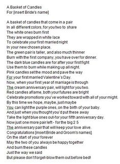 6c28d72d96ca61 Images about wedding shower gifts on pinterest jpg 236x323 Poem end of life  candle