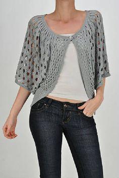 #crochet #knit #tank #halter #tops #pattern #diagrams #cardigans #tunics #wraps