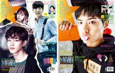 ASTA TV+ Style Korea Magazine February 2016 Park BoGum Moonlight Drawn by Clouds