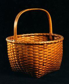 Shaker Apple Basket, New Lebanon, New York, circa 1860