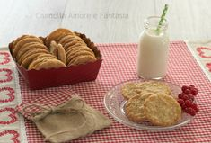 Biscotti di avena norvegesi - Havreflan