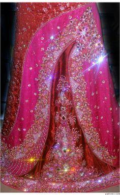 Red Pink Sharara