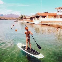 "𝔸ℤ 𝔸𝔻𝕍𝔼ℕ𝕋𝕌ℝ𝔼 𝔹𝔸𝔹𝔼𝕊 🌵♥️ on Instagram: ""Yo Girl, do you Paddle?? @misss_lynnnn ☀️💜"""