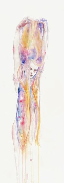 I'll stay here for a while Art Print