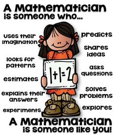 STEM MATHEMATICIAN POSTER FOR ELEMENTARY [SOMEONE WHO] - TeachersPayTeachers.com