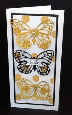 Stampin' Up! Butterflies Thinlets Dies are now available to order in my online store! See my blog for a special offer from Stampin' Up! when you order by April 30th!
