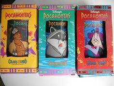 Disney Pocahontas Plastic 16 oz.Tumblers Meeko Kocoum Set of 3 Burger King Premium. $15.00, via Etsy. Disney Pocahontas, 90s Kids, Family Traditions, My Childhood, Toys, Tumblers, Thanksgiving, Plastic, Memories
