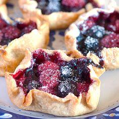 Berry Tartlets... look like heaven on a plate!