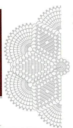Captivating All About Crochet Ideas. Awe Inspiring All About Crochet Ideas. Crochet Doily Diagram, Crochet Doily Patterns, Crochet Chart, Crochet Squares, Thread Crochet, Filet Crochet, Crochet Motif, Crochet Designs, Crochet Stitches