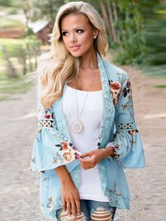 best=Women Floral Chiffon Kimono Shirt , For this year's biggest dance, you'll want a prom dress that's just as grand as the occasion itself, and this collection of dresses for prom has you covered. Cardigan Kimono, Kimono Shirt, Floral Cardigan, Summer Cardigan, Cardigan Fashion, Open Cardigan, Chiffon Kimono, Lace Kimono, Floral Kimono
