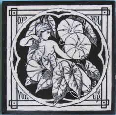 """From the rare series of twelve """"Spirit of the Flowers"""", here is """"Convolvulus"""". It is Minton pattern No. 1347 which, as Austwick states, has been variously attributed to John Moyr Smith, C.O. Murray or..."""