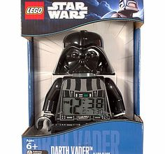 Lego Star Wars Darth Vader Alarm Clock Let Lord Vader drag you from the dark side of sleep! You can be woken by the alarm, then turn over and press the snooze button if youre desperate for a few more Zzzs. (Barcode EAN=5065000460471) http://www.comparestoreprices.co.uk//lego-star-wars-darth-vader-alarm-clock.asp