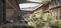 New North Zealand Hospital in Dänemark  1. Preis Herzog De Meuron