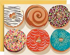 Donuts A2 Stationery