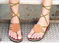Round Leather Accessory to add to your Sseko Sandals!