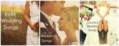 Wedding Songs List | Totally Love It http://totallyloveit.com/wedding-songs-list/