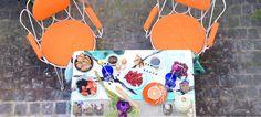 カラフルな春色が楽しい!ピクニックテーブルのアレンジ J'aDoRe Magazine