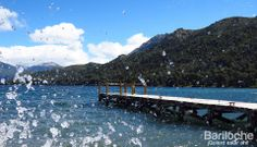En el lago Gutierrez.