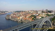A Bird's Eye View of Porto from the lookout at the Mosteiro da Serra do Pilar.