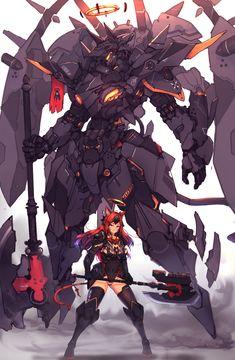 Robot Concept Art, Armor Concept, Weapon Concept Art, Robot Art, Arte Gundam, Gundam Art, Character Concept, Character Art, Character Design