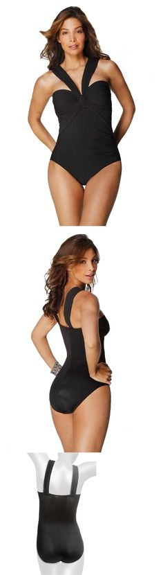 628038eef92b5 Swimwear 63867: Nwt Msrp $150 - Miraclesuit Jojo Foam Bra One-Piece, Black,  Sizes: 10 And 12 -> BUY IT NOW ONLY: $49 on eBay!