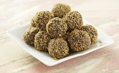 Looking for a dessert or housewarming gift during the holidays? Try these Dark Chocolate Truffles with wheat germ!