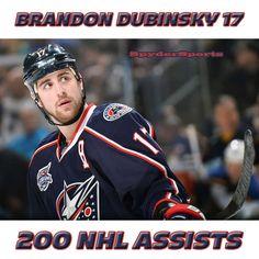 Brandon Dubinsky Reaches 200 NHL Assists   Spyder Sports Lounge