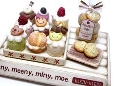Set of home-made cake