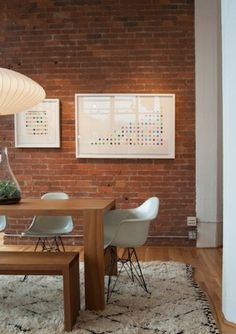 How To: Hang Picture Frames on a Brick Wall   #home #DIY