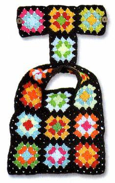 best Ideas for crochet granny square animal dog sweaters Dog Sweater Pattern, Crochet Dog Sweater, Dog Pattern, Crochet Granny, Crochet Baby, Crochet Dog Clothes, Pet Clothes, Dog Clothing, Baby Hut