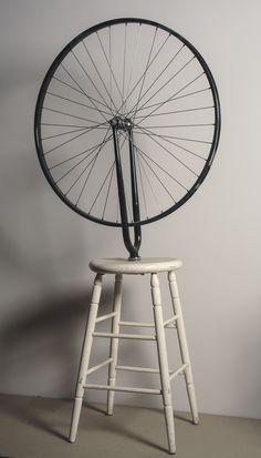 Marcel Duchamp, Ruota di bicicletta, 1913 (originale disperso), copia 1964